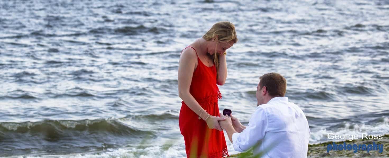 RI Engagement Photography
