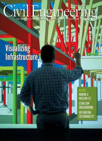 cover of civil engineering magazine