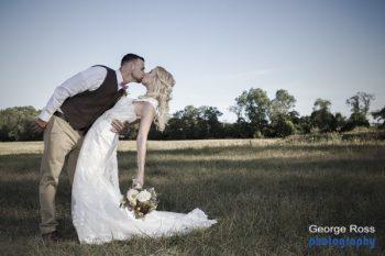 RI Wedding Photographer: Mike and Joanne's rustic backyard wedding