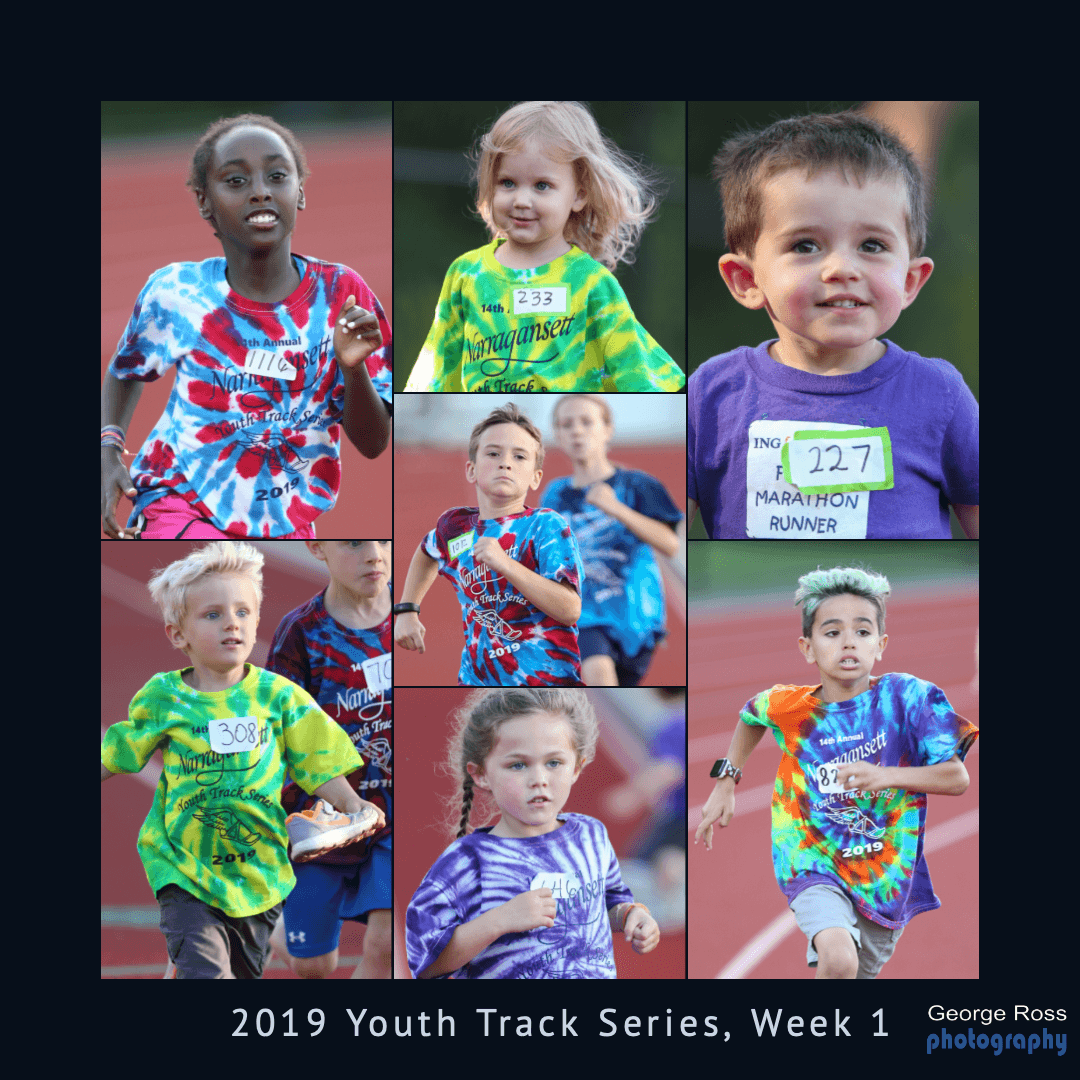14th Annual Summer Youth Track Series, Week 1
