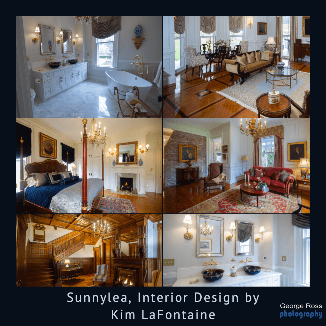 Interior Design Shoot: Sunnylea, Bellevue Avenue, Newport, RI
