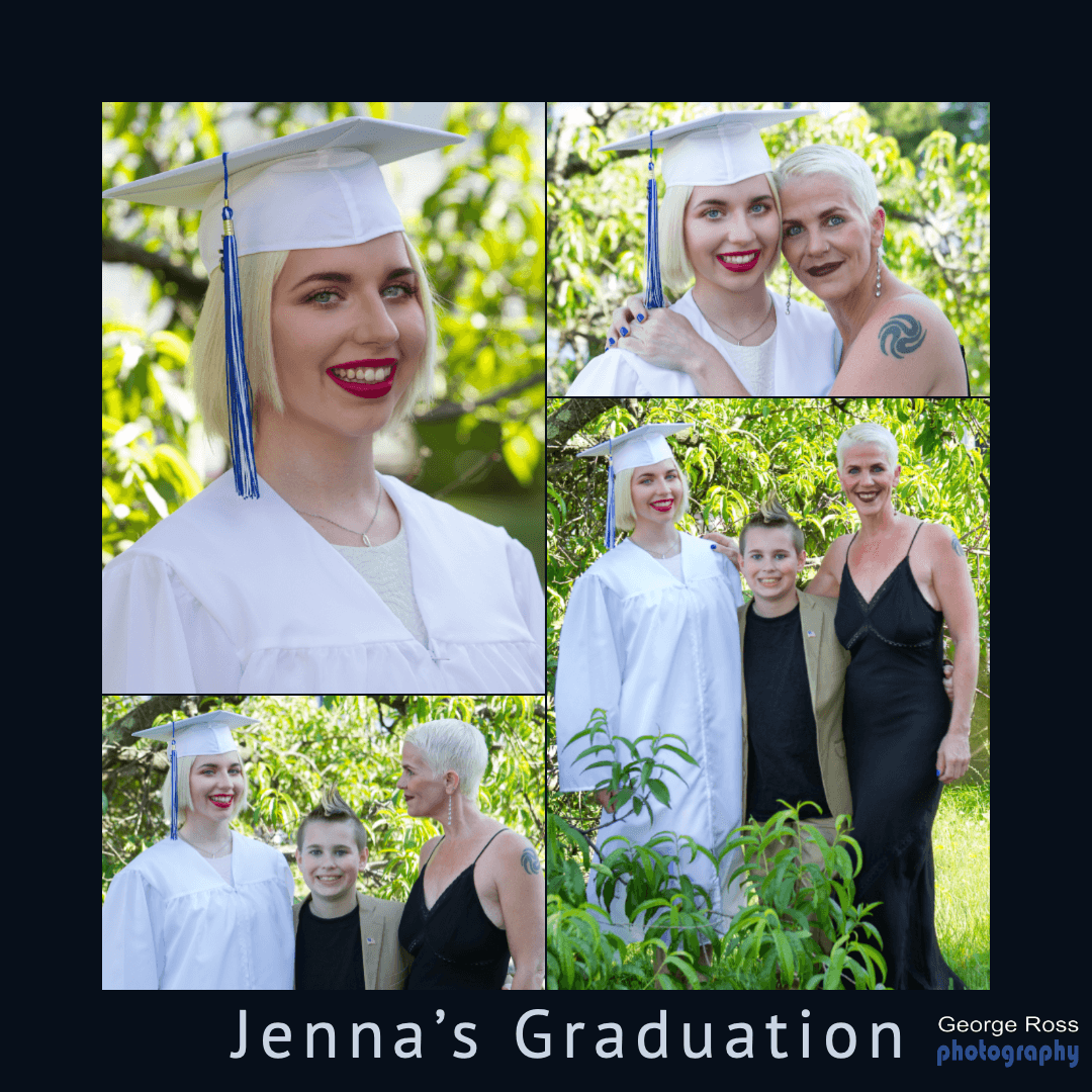 Jenna's Graduation Photoshoot