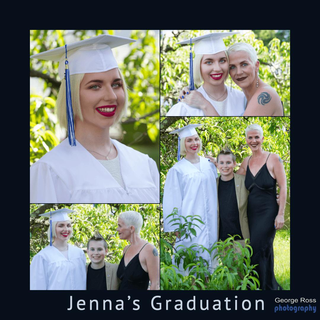 Jenna's Graduation Photoshoot