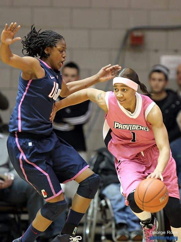 uconn lady basket ball vs providence