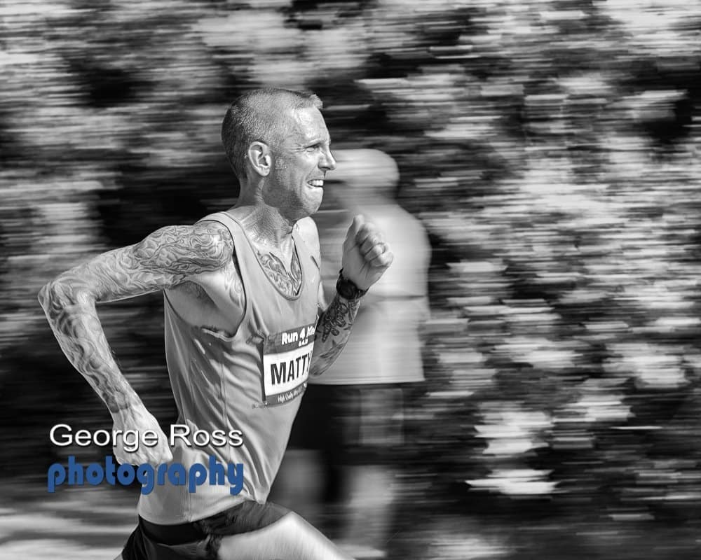 Panning Photography - Running