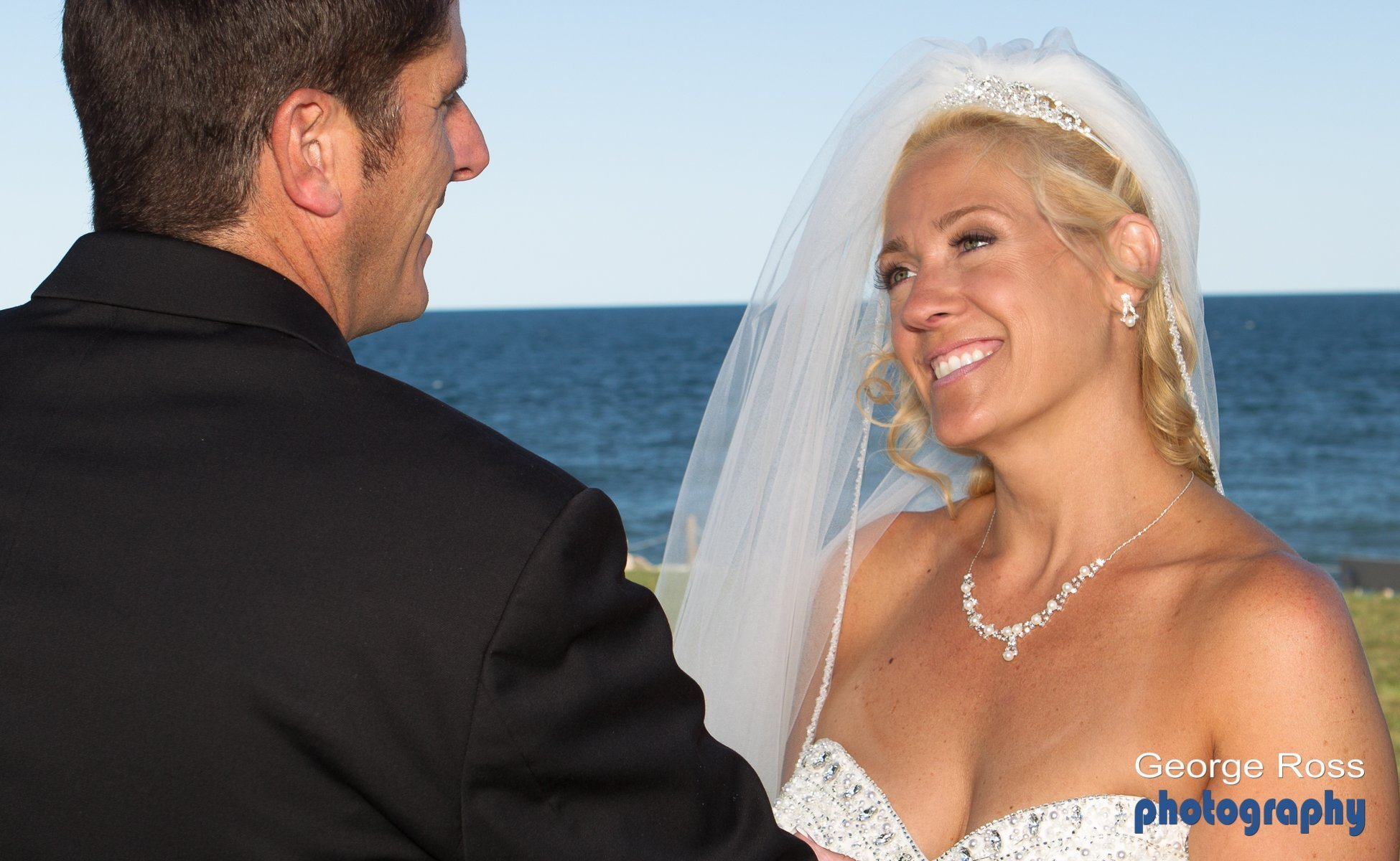 Aqua Blue Hotel Wedding, Rhode Island