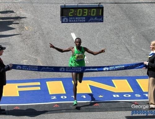 2011 Boston Marathon – Photos From the Finish Bridge