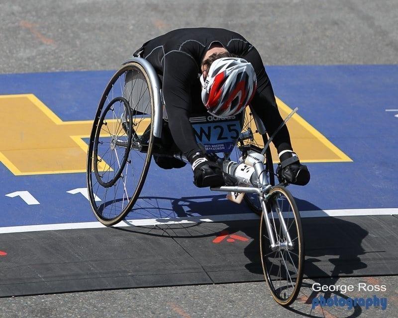 2011 Boston Marathon Photos From The Finish Bridge