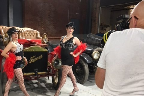 Behind the Scenes at The Fringe Follies Charity Calendar Shoot