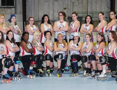 Providence Roller Derby's 2016 Riveters