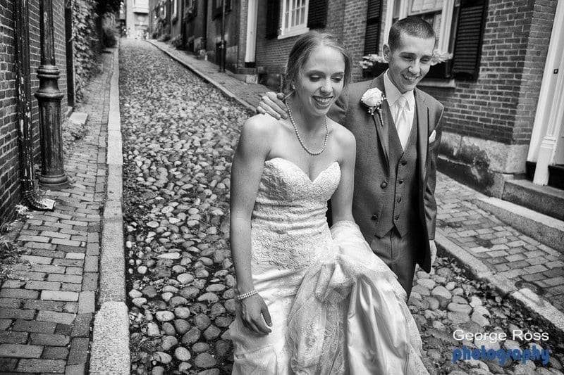 Andrew and Meaghan's downtown Boston wedding.