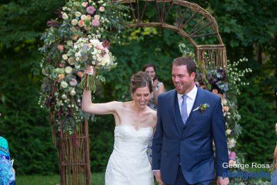 Collen and Jason's Backyard Wedding
