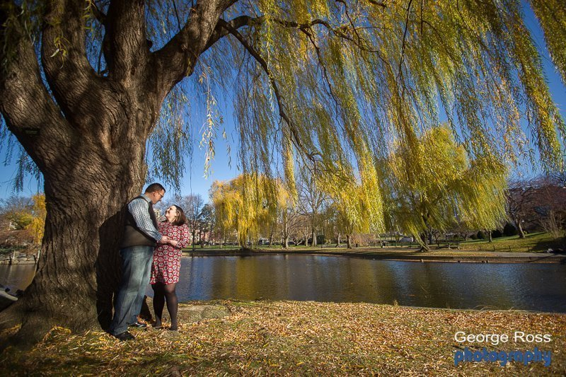 Proposal and engagement photo