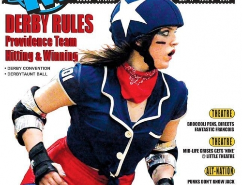 Motif Magazine Cover, Derby Rules. Providence Team Hitting and Winning