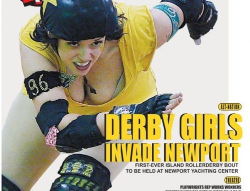 Motif Magazine Cover, Derby Girls Invade Newport