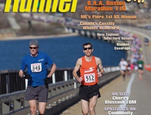 New England Runner Cover, Jamestown Bridge 10K