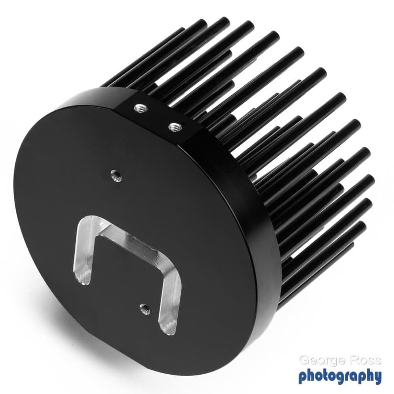 Cold forged LED heatsink