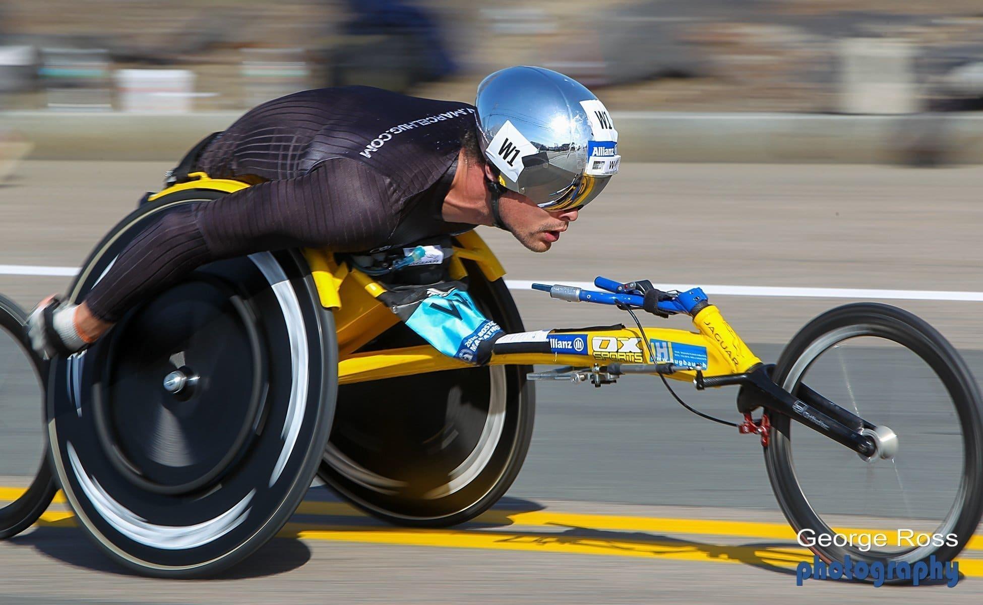 wheel chair racing marcel hug