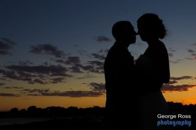 Harborlighta wedding at Sunset