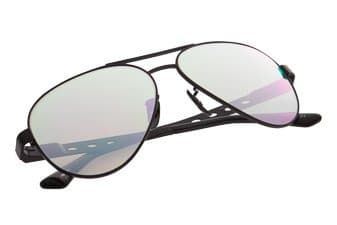Product Photograph of a pair of aviator's sunglasses