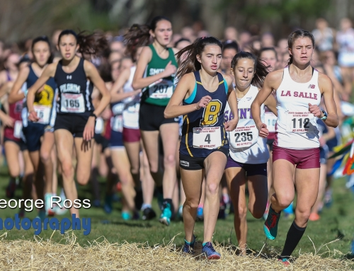 2019 Rhode Island State XC Girls Championship Race