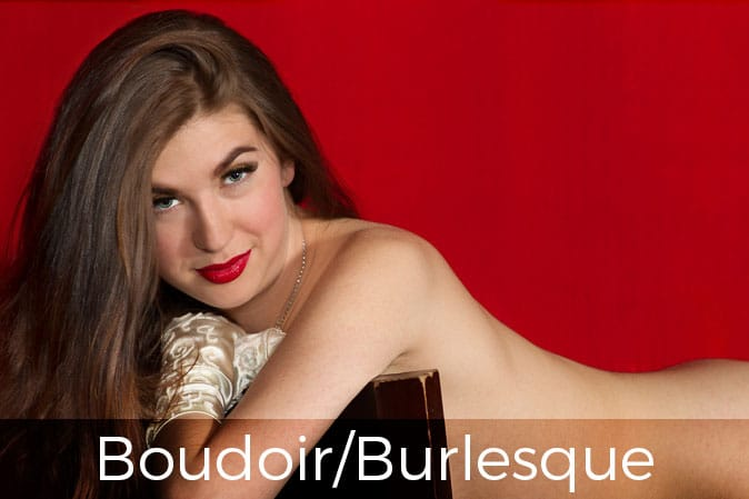 burlesque boudoir photographer