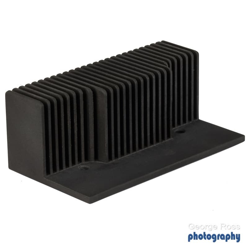 Custom made black heatsink