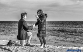 proposal photography at the ocean house, rhode island