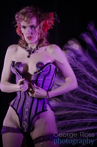 red hot annie, burlesque performer