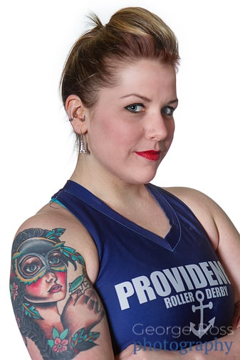 headshot of providence roller player