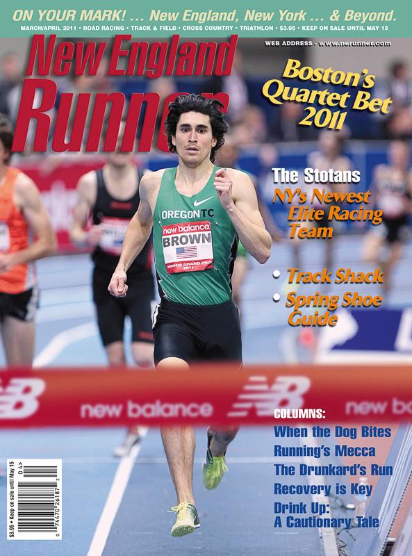 new England runner magazine cover