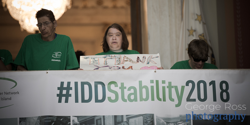 Rally To Restore Funding To People With IDD, 2018