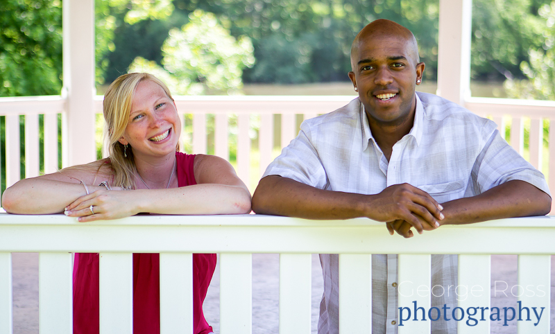 engagement photoshoot in roger williams park