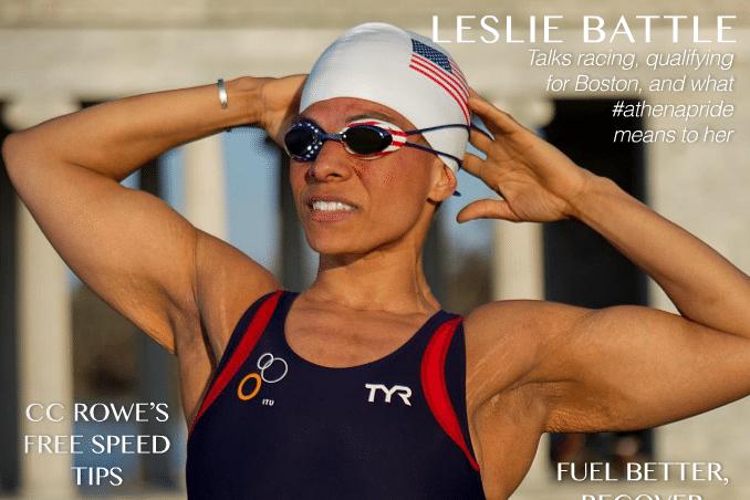 Leslie Battle, Athena Magazine