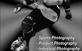 sports photography advertisement
