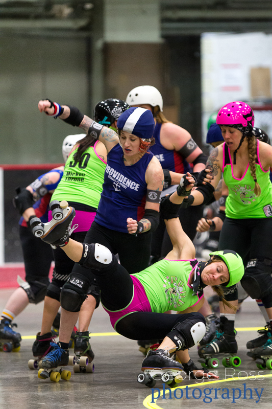roller derby action photography
