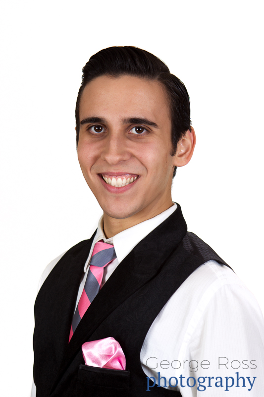 business headshot of a dance instructor