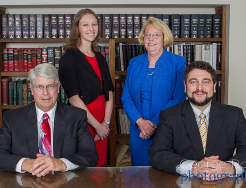 Business Headshot Photoshoot at an Attorney's Office