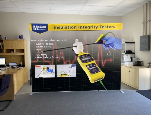 Trade Show Booth Design for McGan Technology