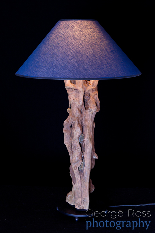 product photography: table lamp