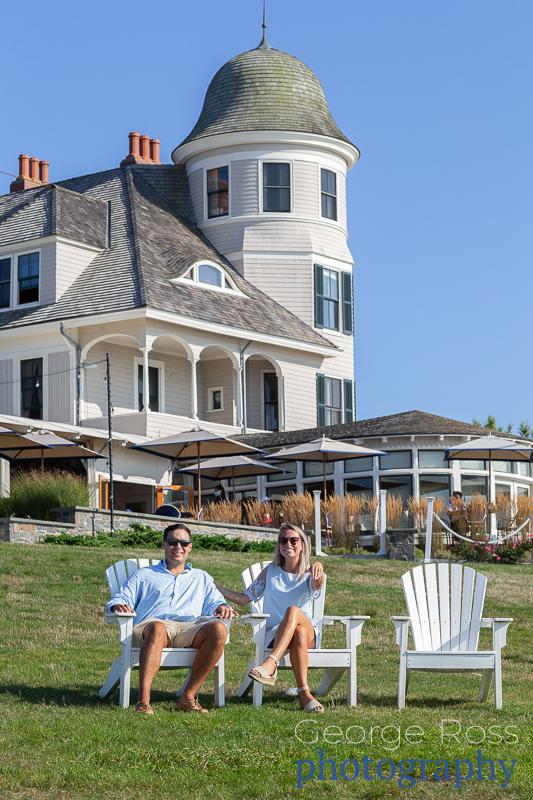 Jason's Proposal at the Castle Hill Hotel, Newport, Rhode Island