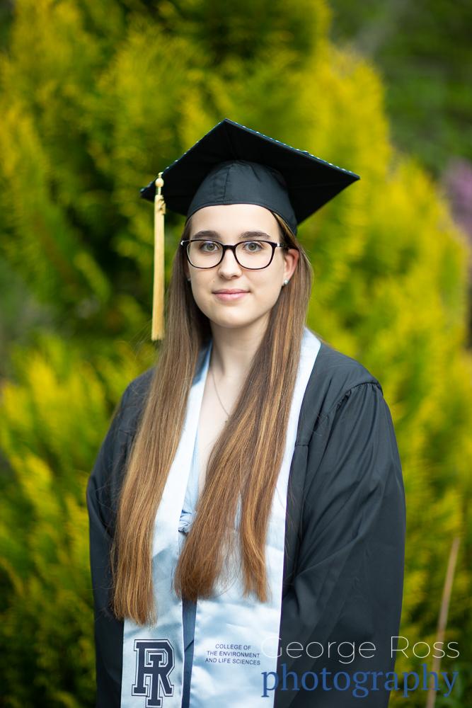 Graduate Photos of University of Rhode Island students