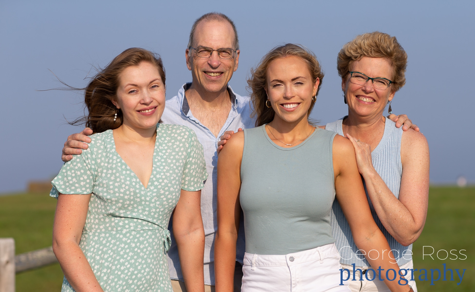 A family Photo by Rhode Island Family Photographer, george Ross