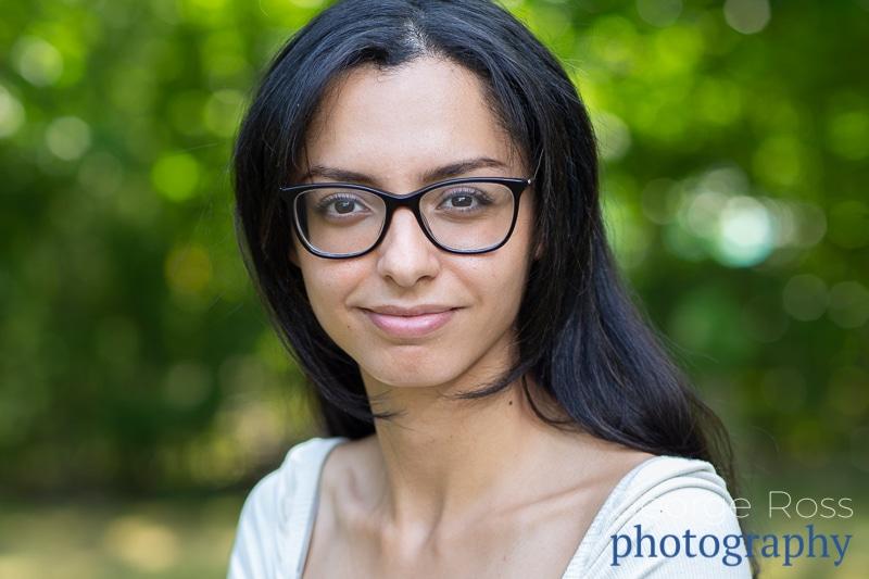 rhode island headshot of young lady